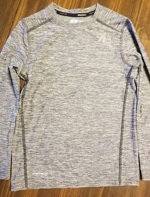 Russell Boys Athletic Faded Glory Long Sleeve Tee  Gray Size 6/7 S