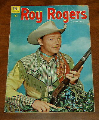 Roy Rogers Comics  #84 1954 GD/VG 3.0 Golden Age Western Dell