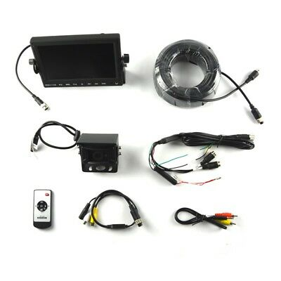"""Brandmotion 9002-7702 Commercial Vehicle Rear Vision Camera Kit w/7"""" Monitor"""