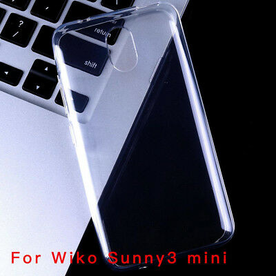For Wiko Sunny2 2Plus Sunny3 mini Plus Clear AntiPrint Gel skin case cover