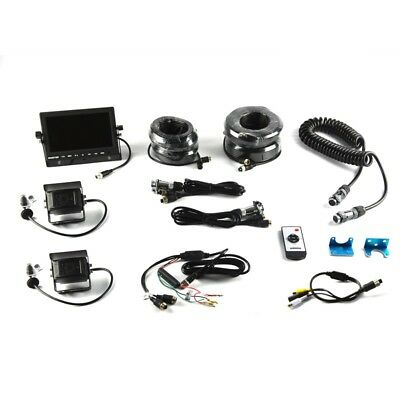 """Brandmotion 9002-7803 Two-Camera Trailer Rear Vision System w/7"""" Monitor"""