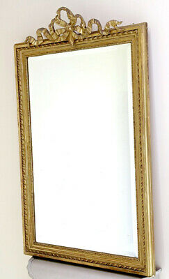 Wonderful French Antique Louis Xvi Style Mirror - Late 19Th C.
