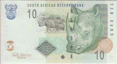 South Africa Banknote P128b 10 Rand Sig Marcus, UNC