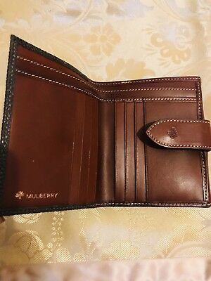 MULBERRY DARIA CONTINENTAL Purse Wallet In Spongy Pebbled Oak ... 5369d26390b87