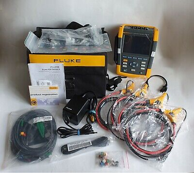 USED Fluke 435 Power Quality Analyzer