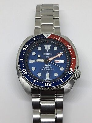 Seiko Prospex PADI Men's Automatic Stainless Steel Diver Watch SRPA21
