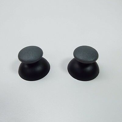 2X Thumbsticks Joysticks Analog Sticks Parts For PS2 PS3 Controller BLACK (S3300