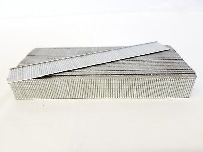 "18 Gauge Galvanized Straight Finish Brad Nail 3/4"" 5,000/box fits most brands"