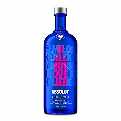 Absolut Love Edition Vodka 700ml