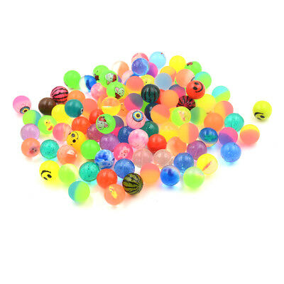10x 25mm Bouncy Ball High quality child elastic rubber ball Kid of pinball FO