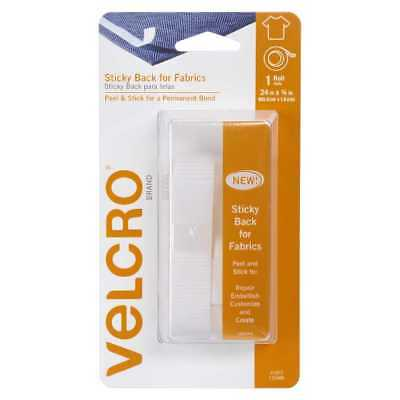 NEW VELCRO Brand Sticky Back For Fabric 24 x 0.75 Inch Strip By Spotlight