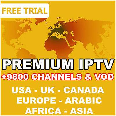 """1 Year"" 12 Months Premium Iptv Subscription [Usa, Canada,uk, Europe, Arabic...]"
