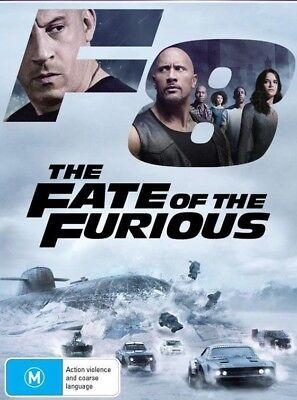 The Fate Of The Furious (DVD, 2017)