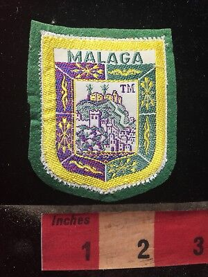Vtg MALAGA Spain Patch 79V3