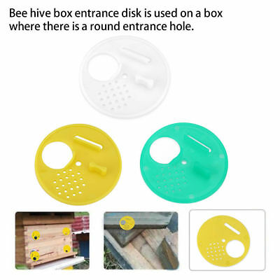 12 Pcs Beekeepers Bee Hive Nuc Box Entrance Gate Beekeeping Equipment Plastic