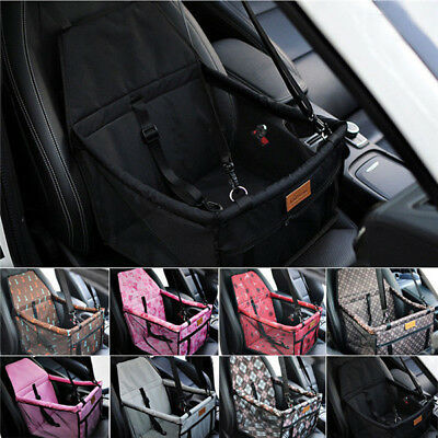 Hot Car Seat Carrier Belt Pet Folding Travel Booster Durable Bag Dog Cat Cover