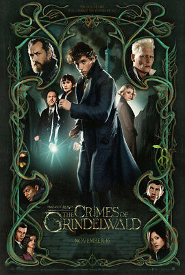 FANTASTIC BEASTS CRIMES OF GRINDELWALD MOVIE POSTER ORIGINAL MINI SHEET 11x17