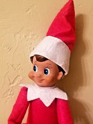 Red Boy Christmas Elf New In Plastic Packaging (No Box) Free Shipping