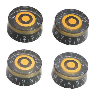 4pcs Cuitar Speed Control Tone Volume Knobs For Gibson Les Paul Electric Guitar