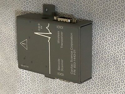 Cardiac Science Wireless Transceiver Barcode Scanner I/o Module