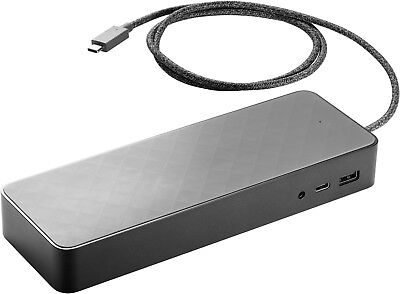 NEW IN BOX - HP USB-C Universal laptop Docking station w/4.5mm power Adapter