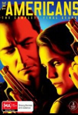 THE AMERICANS-Season 6-DVD-Region 4-New AND Sealed-3 Disc Set-TV Series
