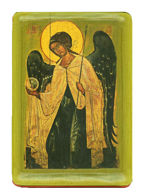 "Icon "" Archangel Gabriel"" XIV cent."