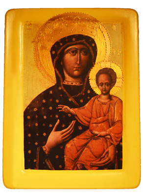"Icon ""Our Lady of the Way"" Hodegetria Lvivska (XIII сent.)"