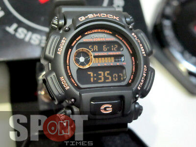 Casio G-Shock Black & Brilliant Rose Gold Men's Watch DW-9052GBX-1A4