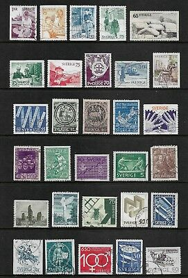 SWEDEN mixed collection No.43, used