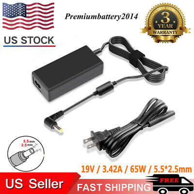 New 65W for ASUS Laptop Charger AC Adapter PA-1650-78 19V 3.42A Power Supply p