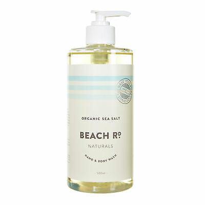 NEW Hand & Body Wash - Organic Coconut & Kaffir Lime - 500ml by Beach Road Natur