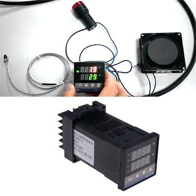 Digital Pid Temperature Controller Rex-C100(M) 0 To 400°C K Type Relay Output