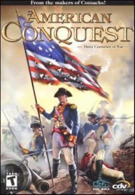 CDV Computer Game American Conquest Box VG+