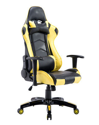 Gaming Chair Gaming Office Chair PC Computer Racing Chair Game With Footrest