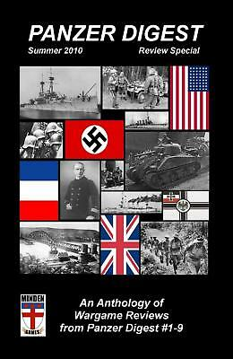 Minden Panzer Digest 2010 Review Special - Issues #1-9 Mag MINT