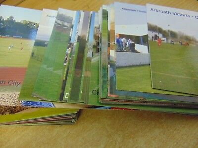 POSTCARDS - Scottish Junior / Non League Football Grounds - choose from options