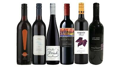 Epic Summer Special Mixed Red Wine Pack - 6 x 750ml RRP $110 Free Delivery