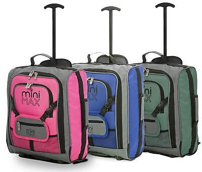Set of 3 Childrens Kids Hand Cabin Luggage Travel Trolley Backpack Rucksack bags