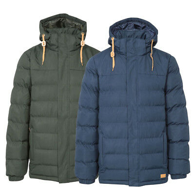 Mens Trespass Westmorland Quilted Insulated Water Resistant Coat | Padded Jacket