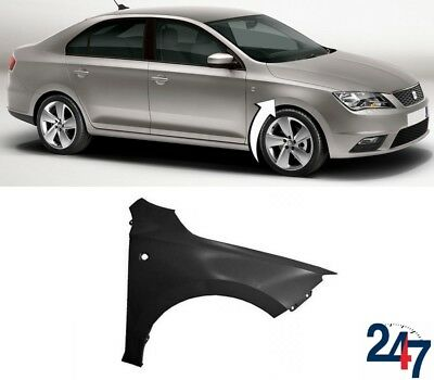New Seat Toledo 2012 - 2017 Front Wing Fender With Flasher Hole Right O/s