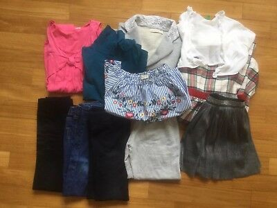 Girls Bundle 17 Items 7-8 Years Inc Zara And Italian Brands