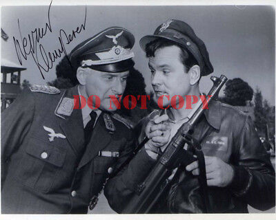 WERNER KLEMPERER Signed HOGANS HEROES 8x10 Autographed Photo Reprint
