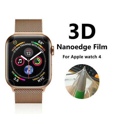 2x TPU Clear Screen Protector Cover Apple Watch Series 4 - iWatch - 44mm