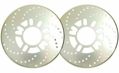 Drum brake cover two sets of silver color disc brake style JAPAN