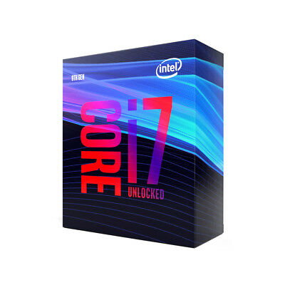 Intel Core i7 9700K - 3.6 GHz - BX80684I79700K - 8-core 8 threads 12 MB cache