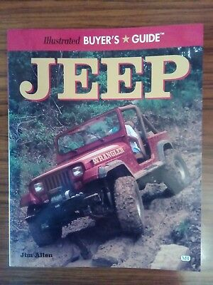 Jeep Illustrated Buyer's Guide Jim Allen Motorbooks Book Livre Buch Libro