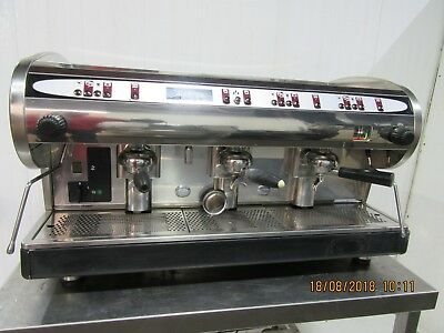X Costa Marisa 3 Group Espresso Coffee Machine  External Pump Large Boiler