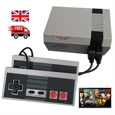 Retro TV Game Classic NES Console 8 Bit With 620 Built-in Games + UK Plug Gift