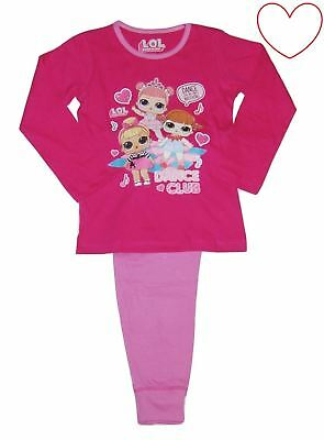 Girls LOL Surprise Nightwear Pjs Set Dance Club Pyjamas Kids Pajamas Gift